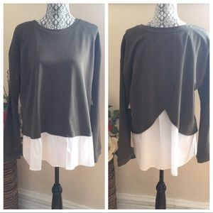 Two By Vince Camuto sweater blouse